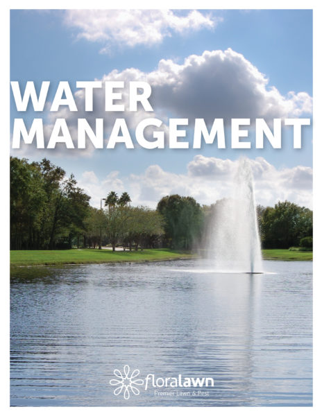 Water Management Flyer - Floralawn